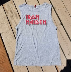 Iron maiden tank dress